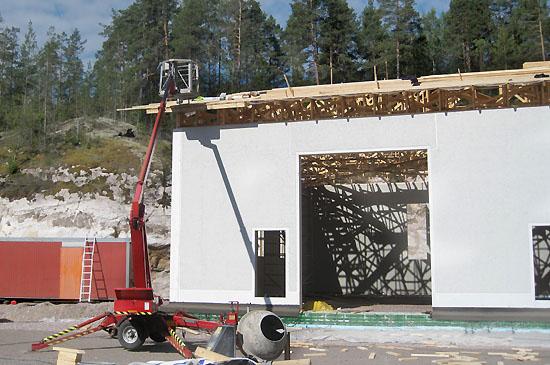 rakennuspalveluita